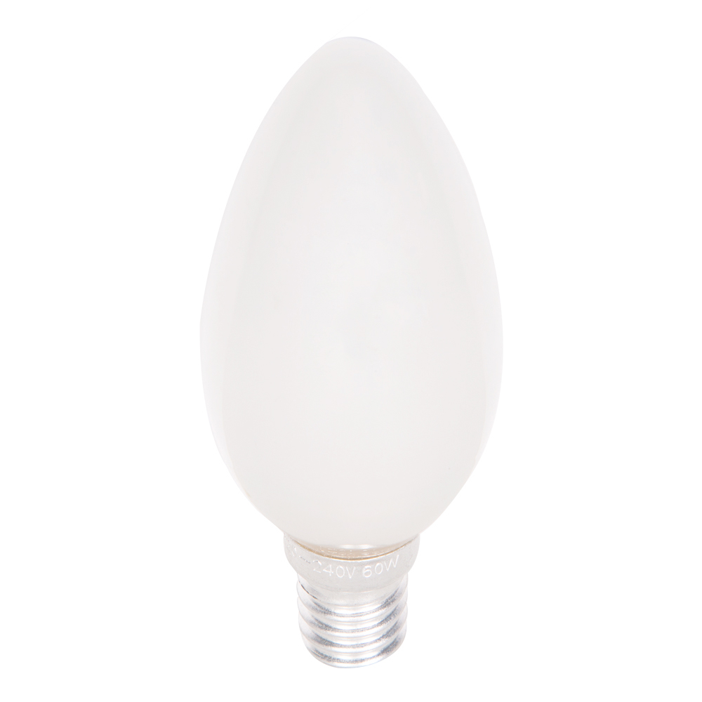 HUAYI : Candle Bulb, Frosted  60W  E14 1