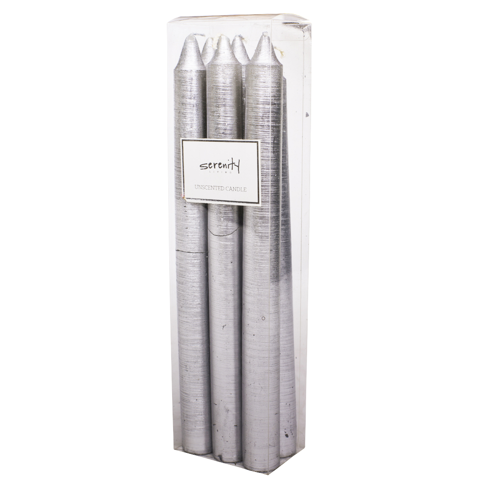 Pack of 6 Dinner Candles: 25cm #UL-UTP736S6 1