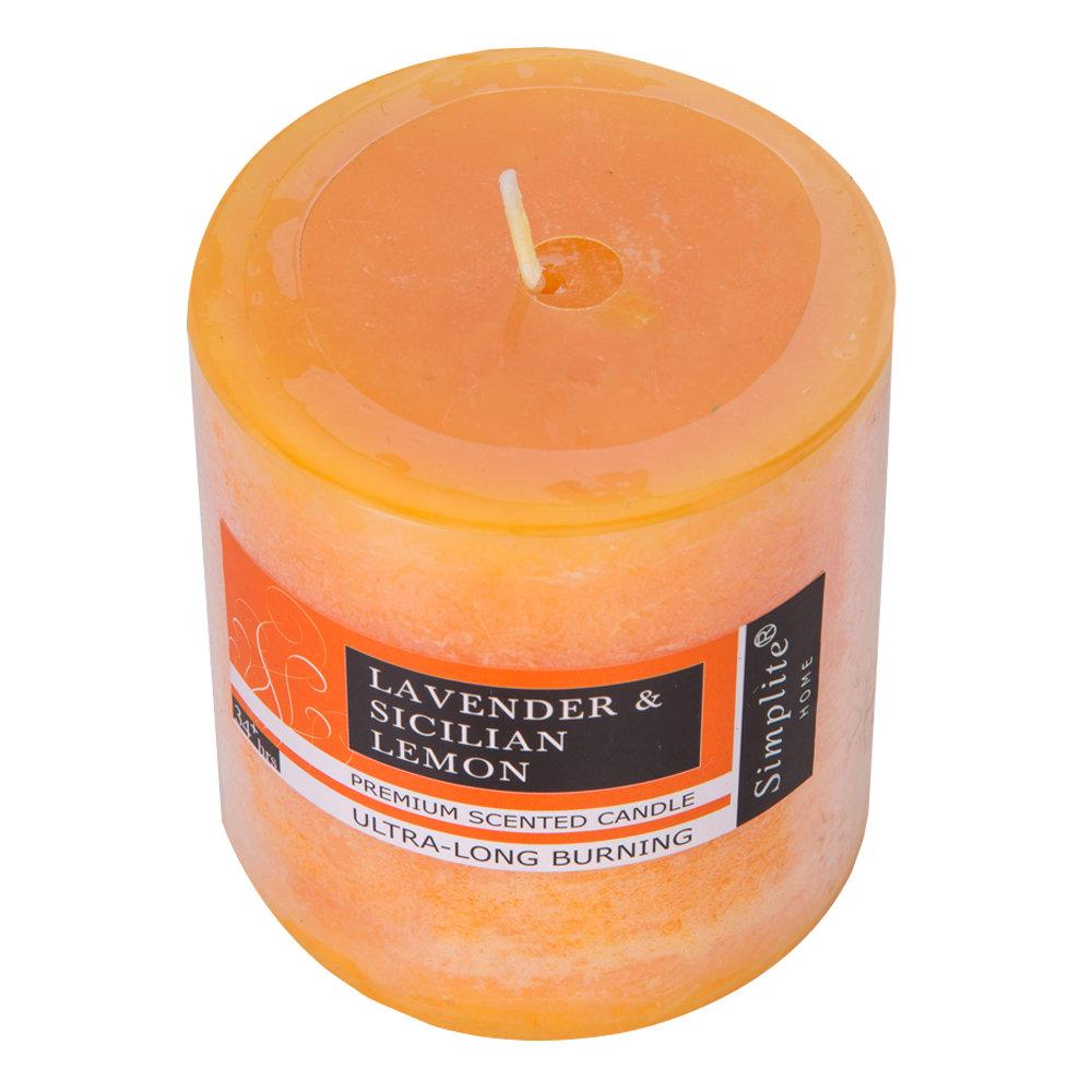 Scented pillar candle 7.5cm Ref.CP775