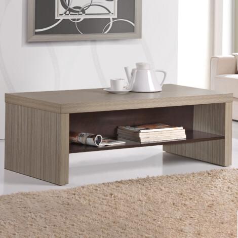 Coffee Table, White Coffee/Mocha