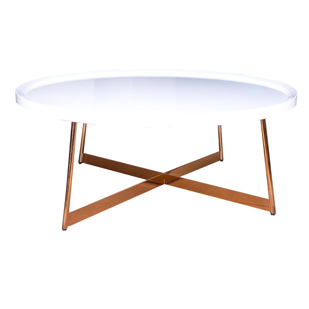 HOBANG: Round Coffee Table : 90×35.5cm Ref