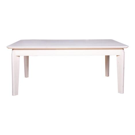 Coffee Table, Wood Top: (106x56x45)cm , White 1