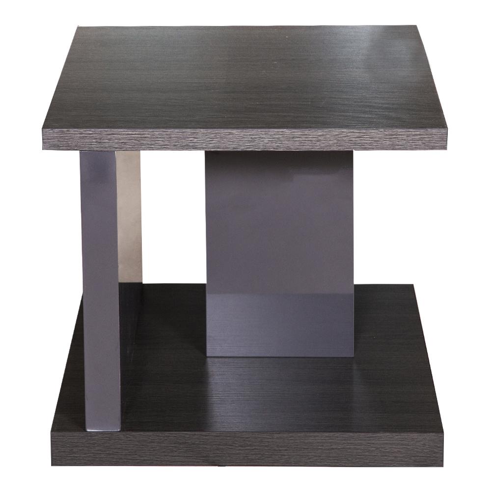 KINWAI: Camino 3950 End Table-Wood Top: 55.9×55