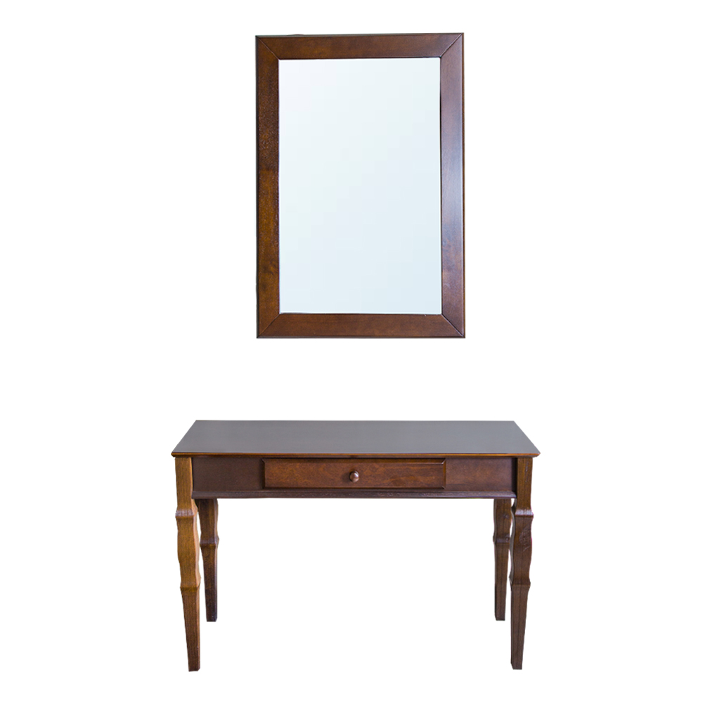 WESLEY: Console Table + Mirror 1