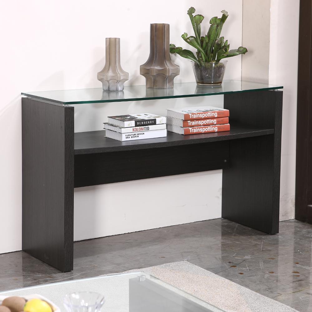 KINWAI: Zuma Console Table (Glass Top): 130x51x80cm #32240-852