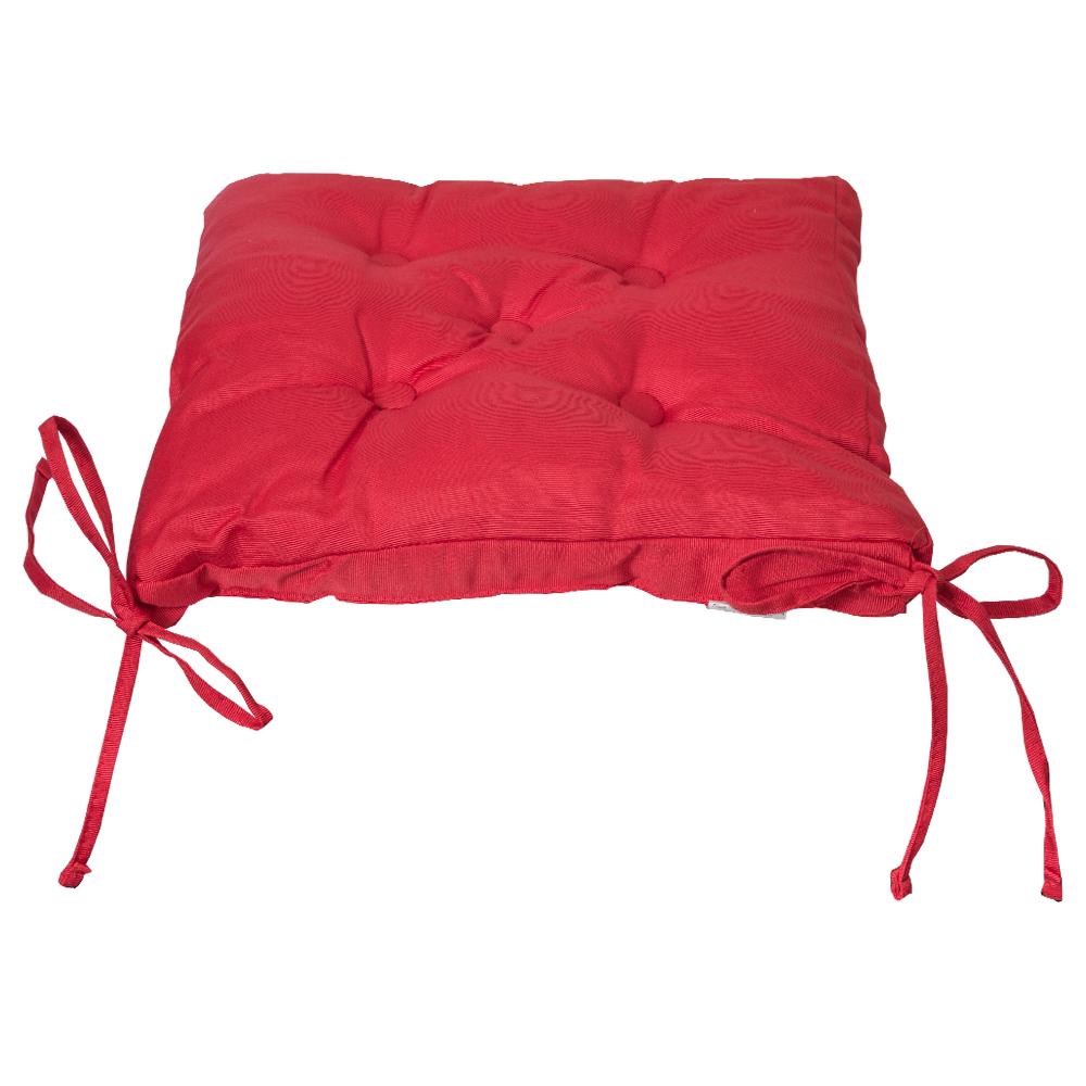 DOMUS: Canvas Chair Pad; 40x40+3cm