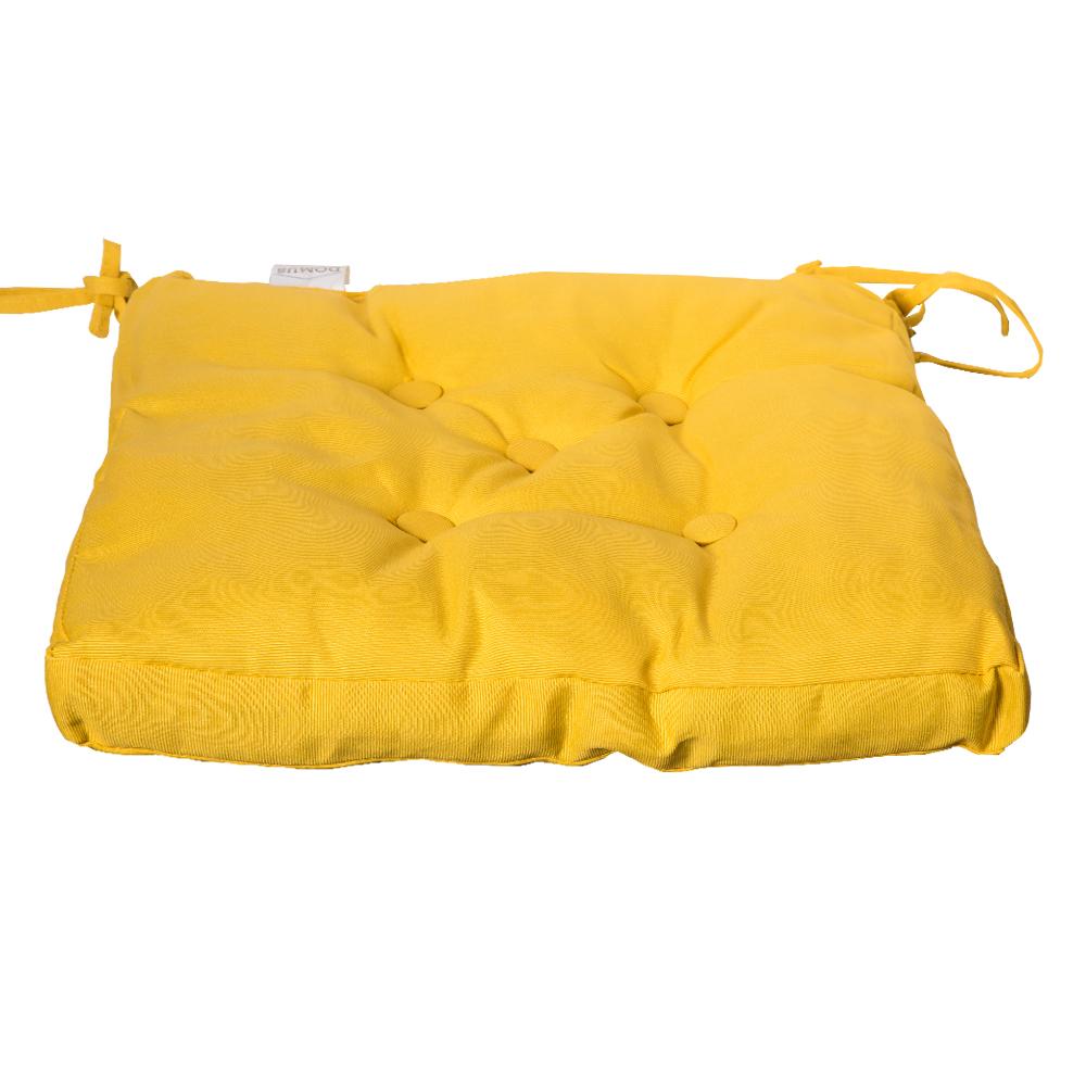 DOMUS: Canvas Chair Pad; 40×40+3cm 1