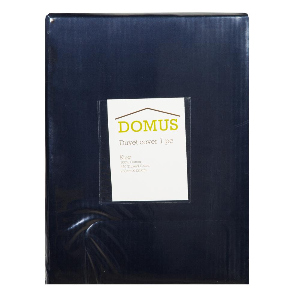 DOMUS: Duvet Cover: King, 250 100% Cotton: 260×240 1