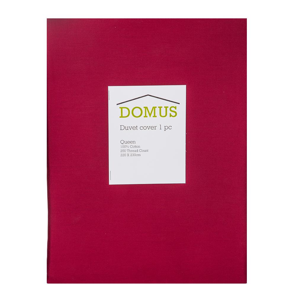 DOMUS: Duvet Cover: Queen, 250Tc 100% Cotton: 220x230cm 1