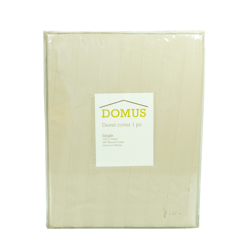 DOMUS: Duvet Cover: Single, 1pc,250TC-2