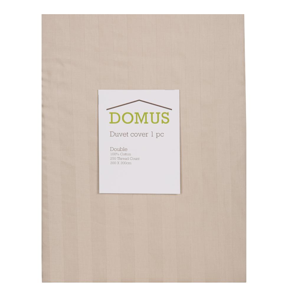 DOMUS: Duvet Cover: Double, 1pc, 250TC-2