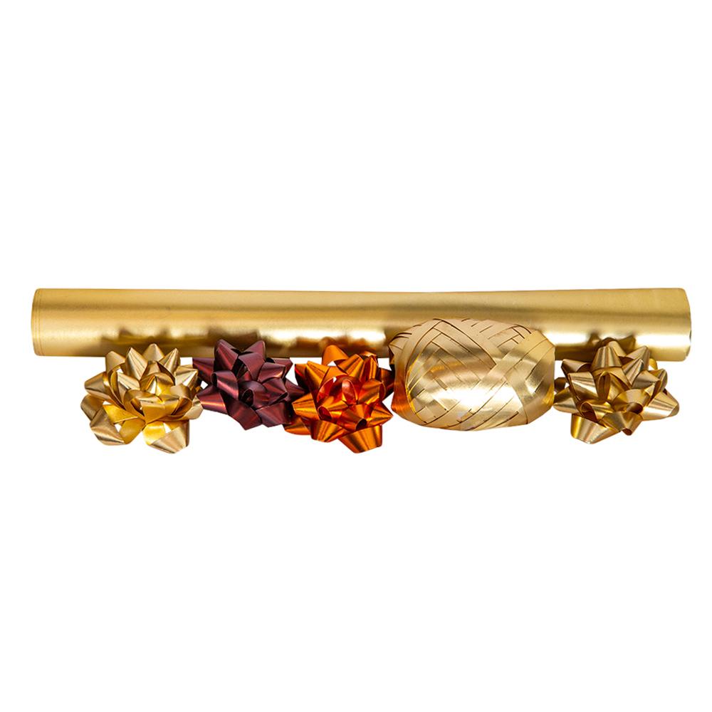 Decoration: Star Bow: 2″ / 5pc, Ribbon #0802130 1