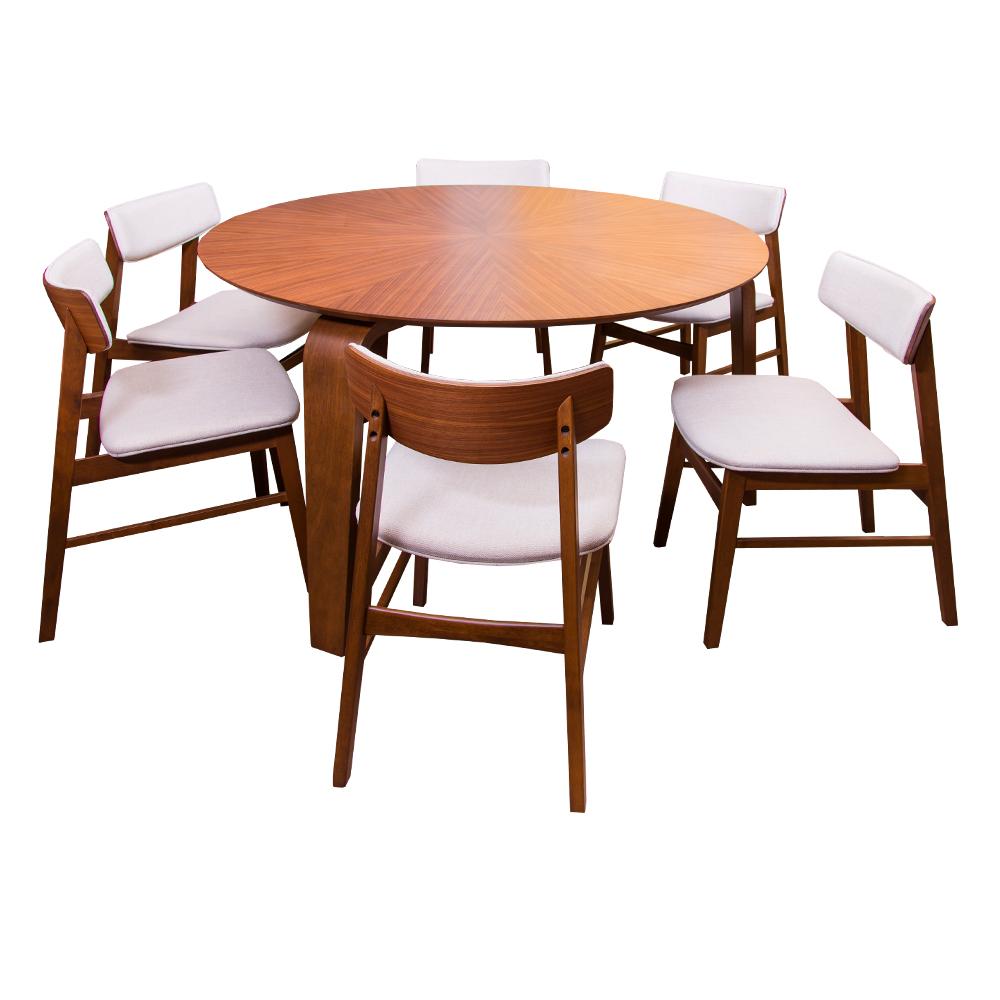 ELK-DESA: Dining Table (137.2×137