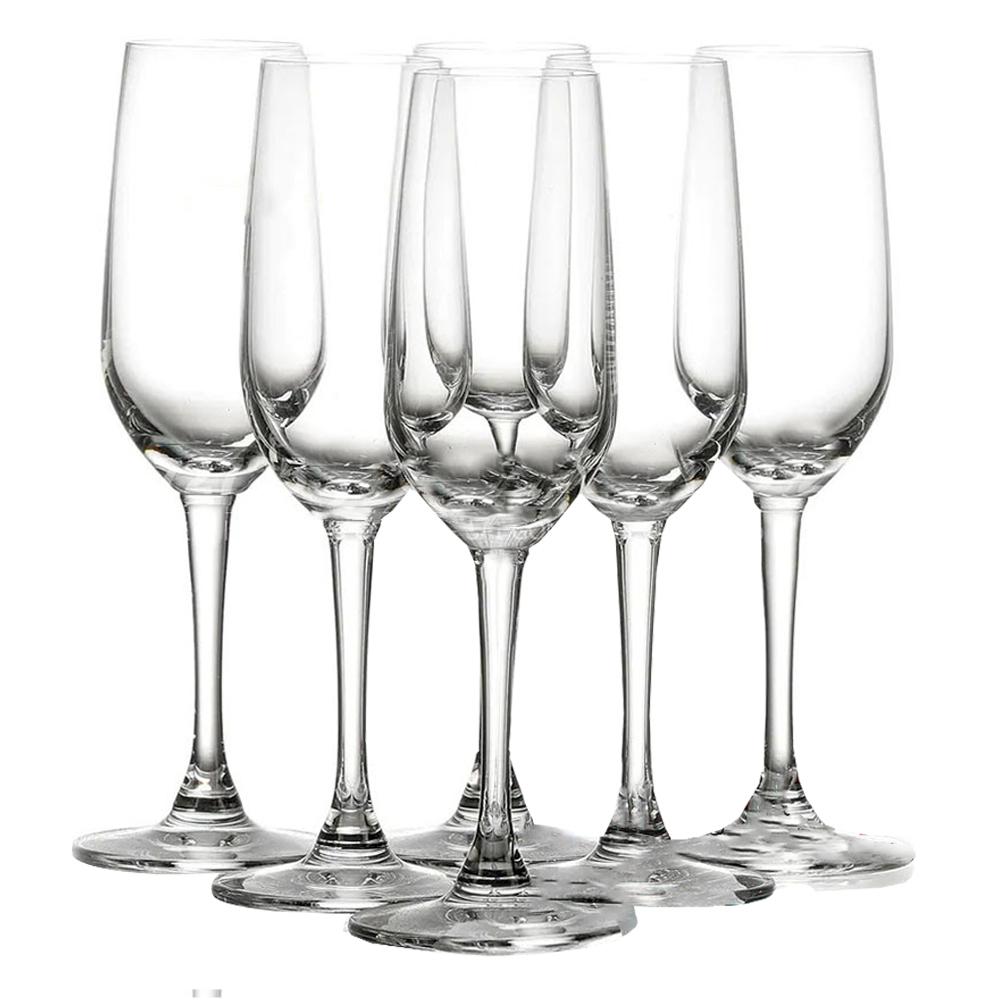 OCEAN: Lexington Flute: Champagne Glass: 6pc, 185ml #1019F06L 1