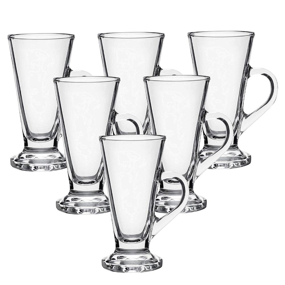OCEAN:Kenya Irish Coffee:Clear Glass Set: 6pc,230ml #1P01643L 1