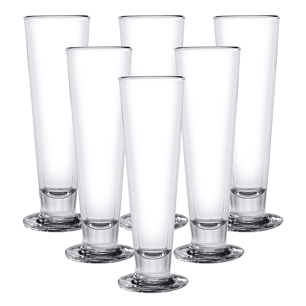 OCEAN: Viva Footed: Clear Glass Set: 6pc, 420ml #1B16315L 1