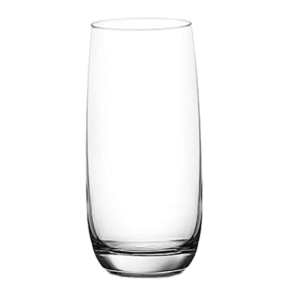 OCEAN: Ivory: Hi Ball: Clear Glass Set: 6pc, 460ml #1B13016L/5B13016