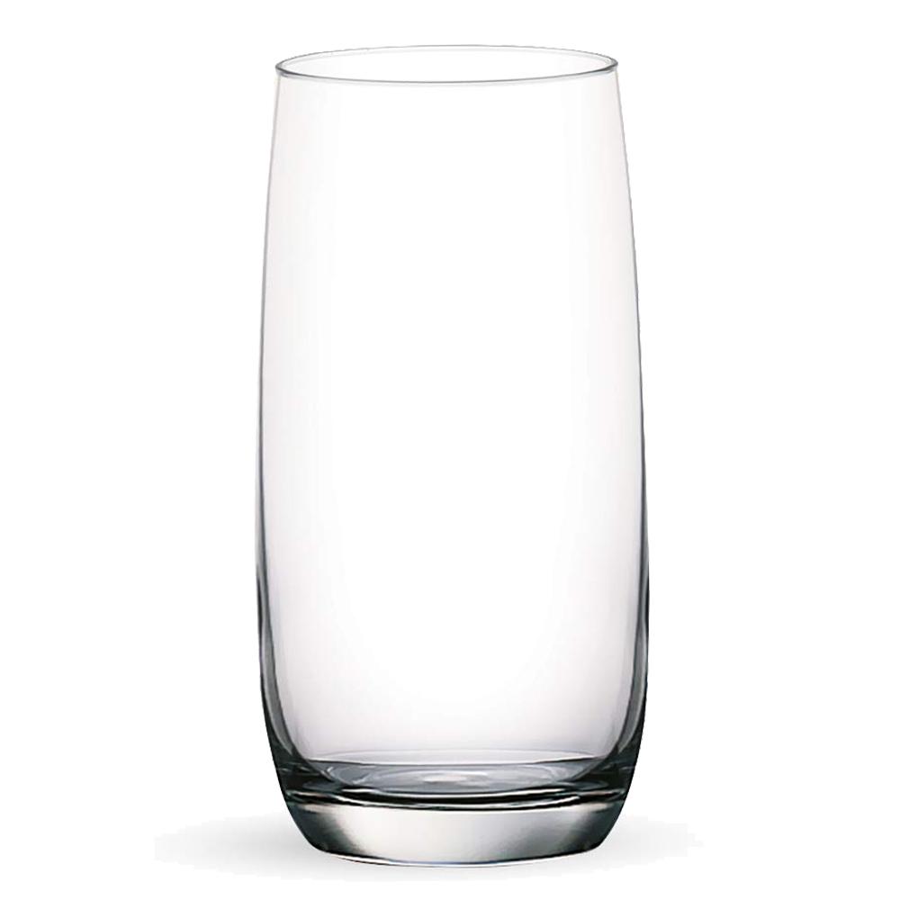 OCEAN: Ivory: Hi Ball Clear Glass Set: 6pc, 370ml #1B13013L/#5B13013