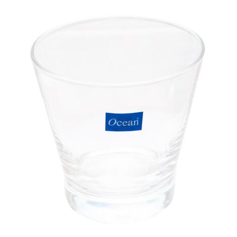 OCEAN: Madison Rock: Clear Glass Set: 6pc, 395ml #5C18413