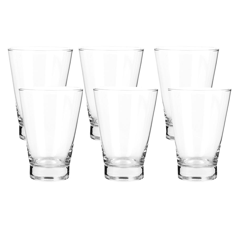OCEAN:Studio: Long Drink Glass Set: 6pc, 435ml #1B16115L 1