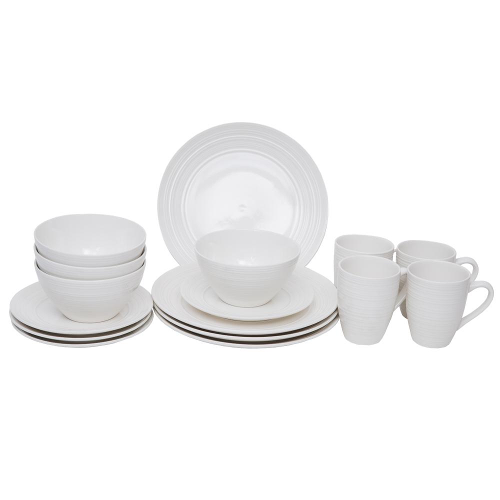 16 Pc Dinner Set – Ripple/8651 #203123 1