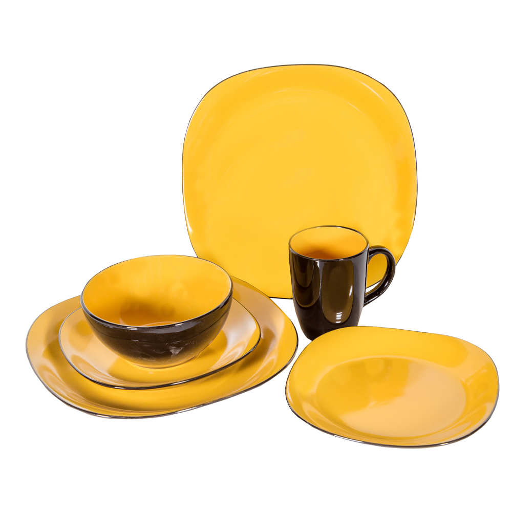 16 Pc Dinner Set – Bali Yellow/8362 #202254 1