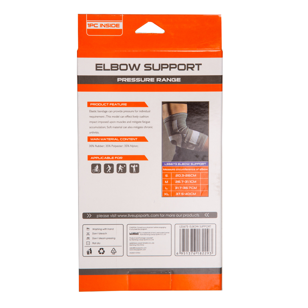 Live Up: Elbow Support; Large/Extra Large #LS5673