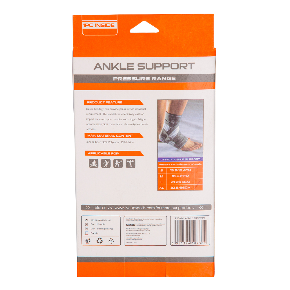 Live Up: Ankle Support; Large/Extra Large #LS5674