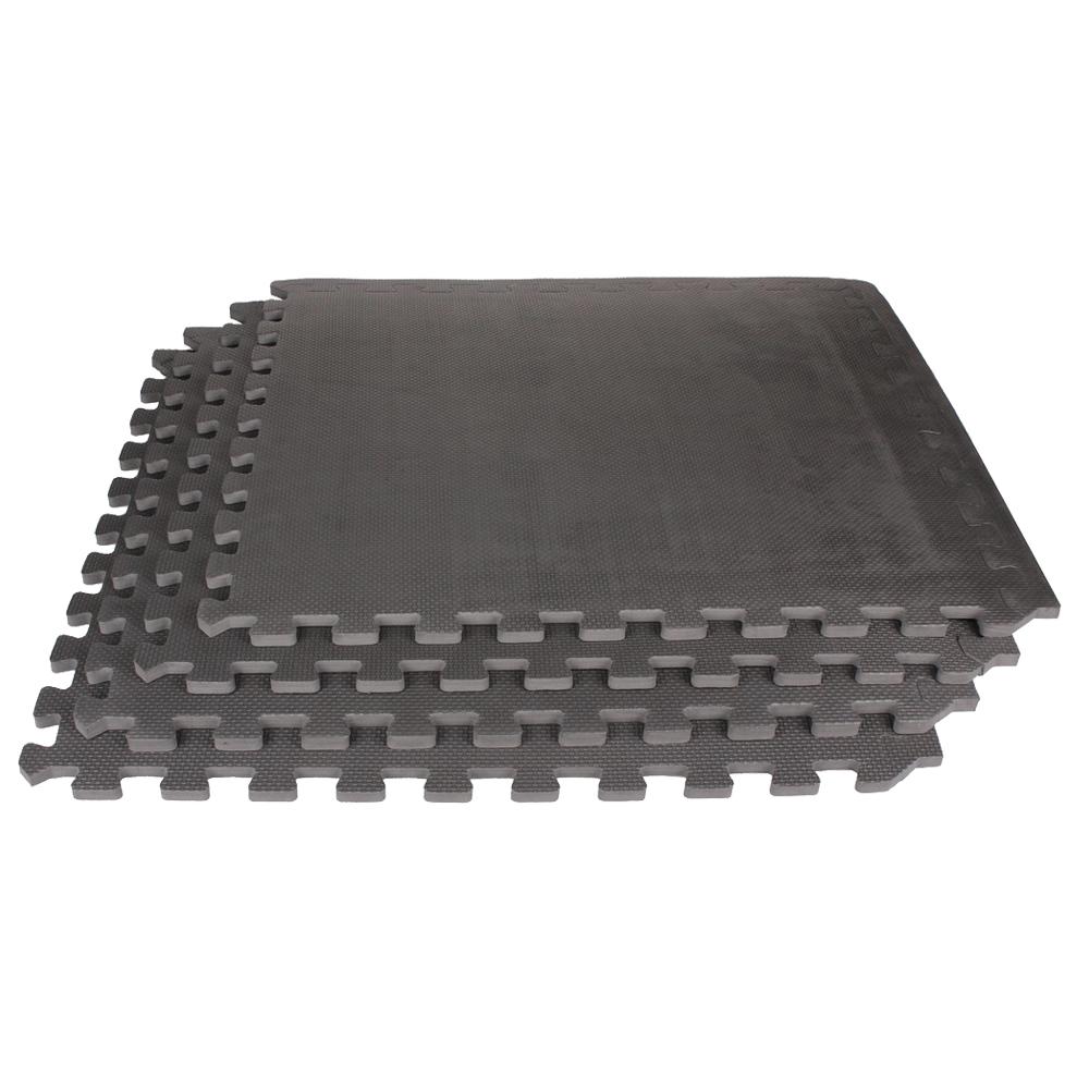 Live Up: EVA Interlock Mat Set; 4pcs, 60x60x1.2cm #LS3259