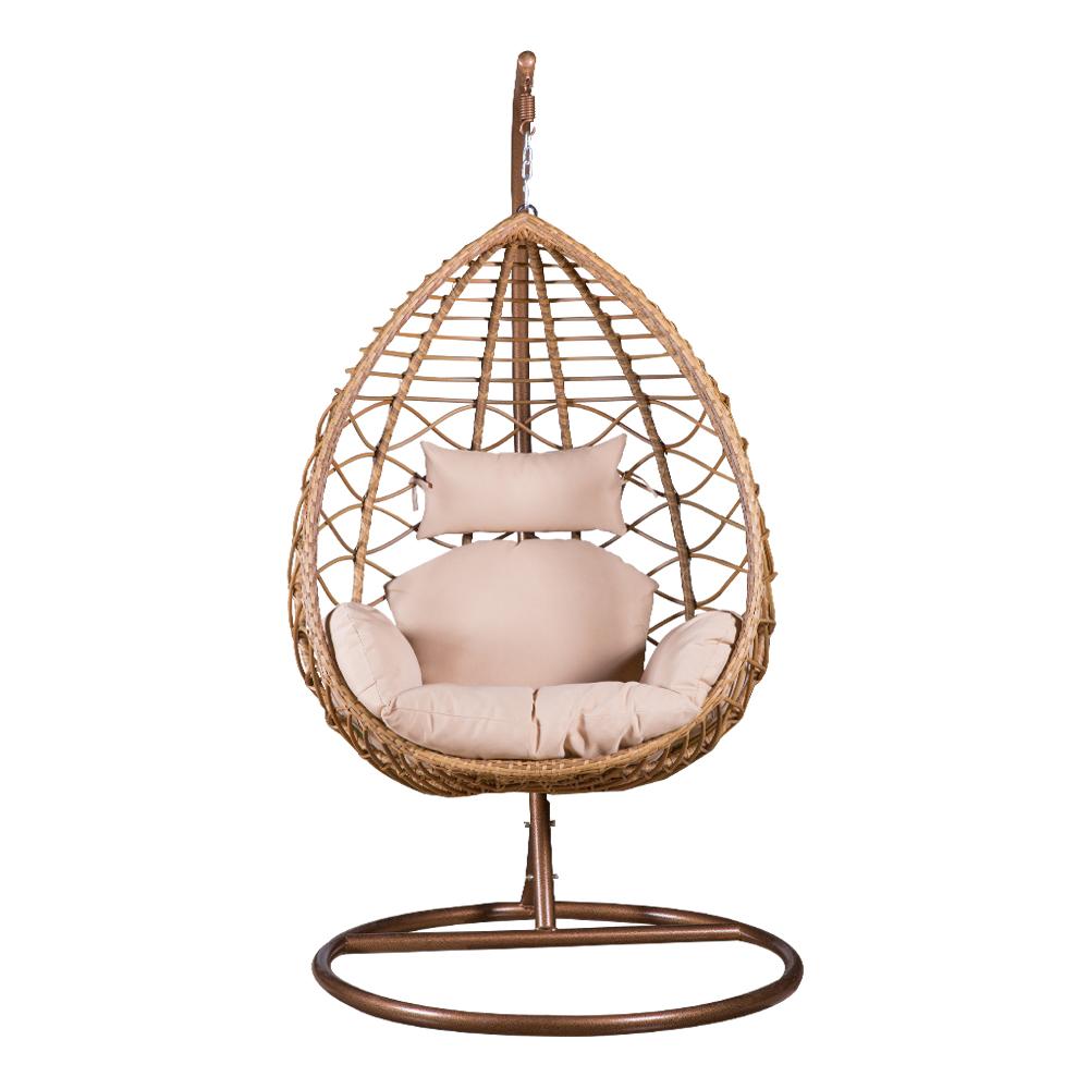 Garden Swing Basket With Cushion; 90x60x118cm #1962 1