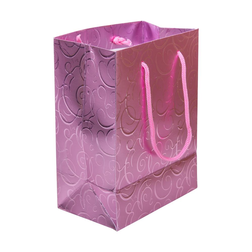 Gift Bag: 140x85x185mm: Purple #0854548E 1