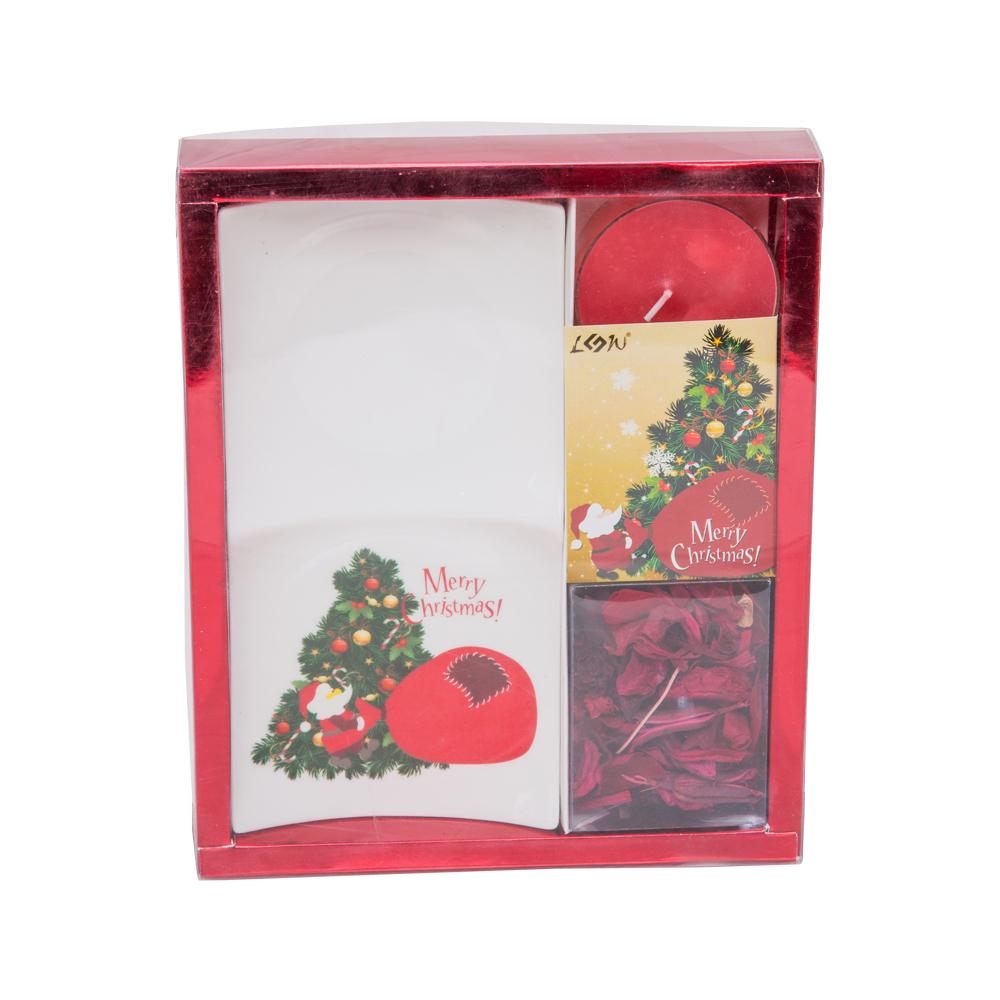 Resource: Christmas Candle Gift Set : 4pc, #GR14011 0041 1