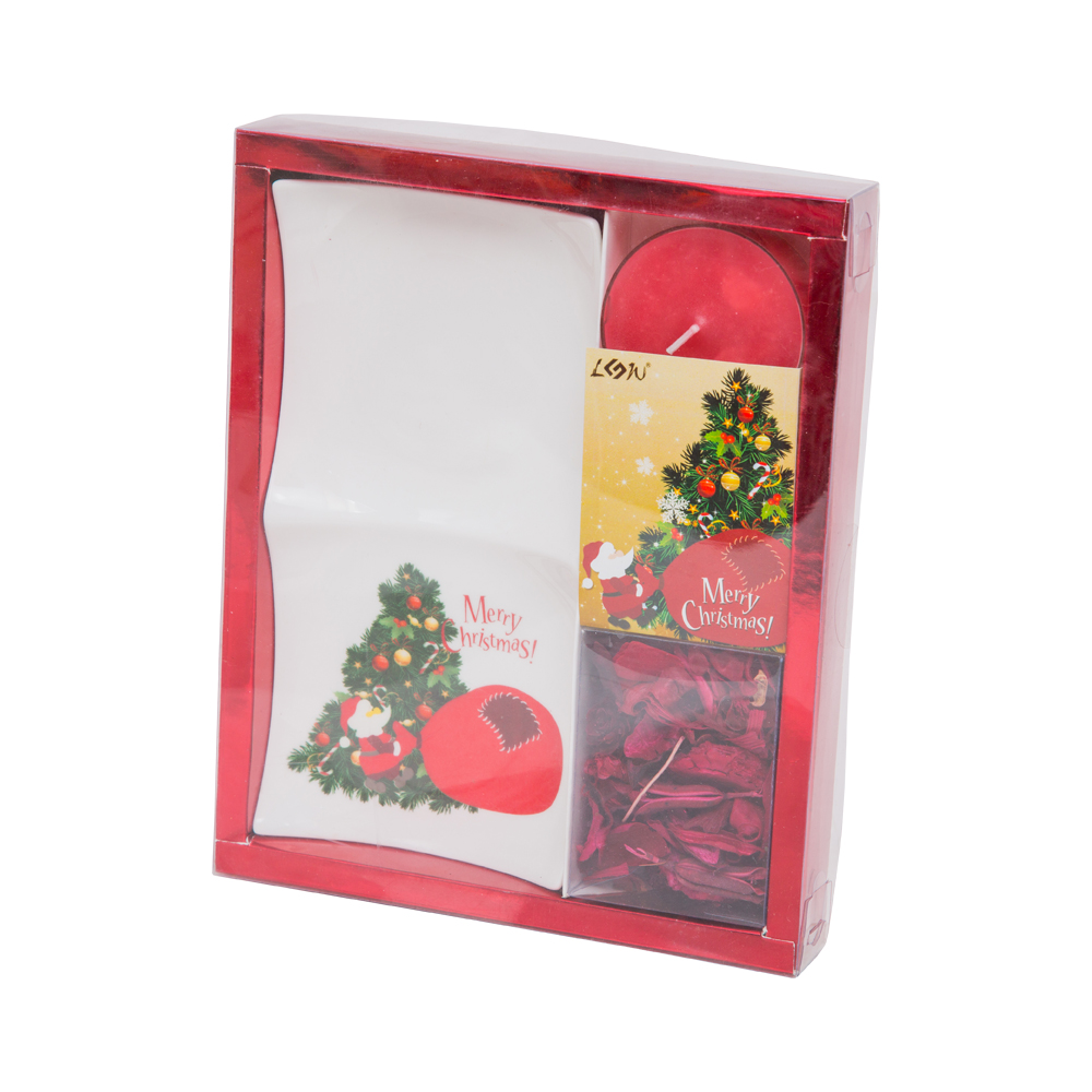 Resource: Christmas Candle Gift Set : 4pc, #GR14011 0041
