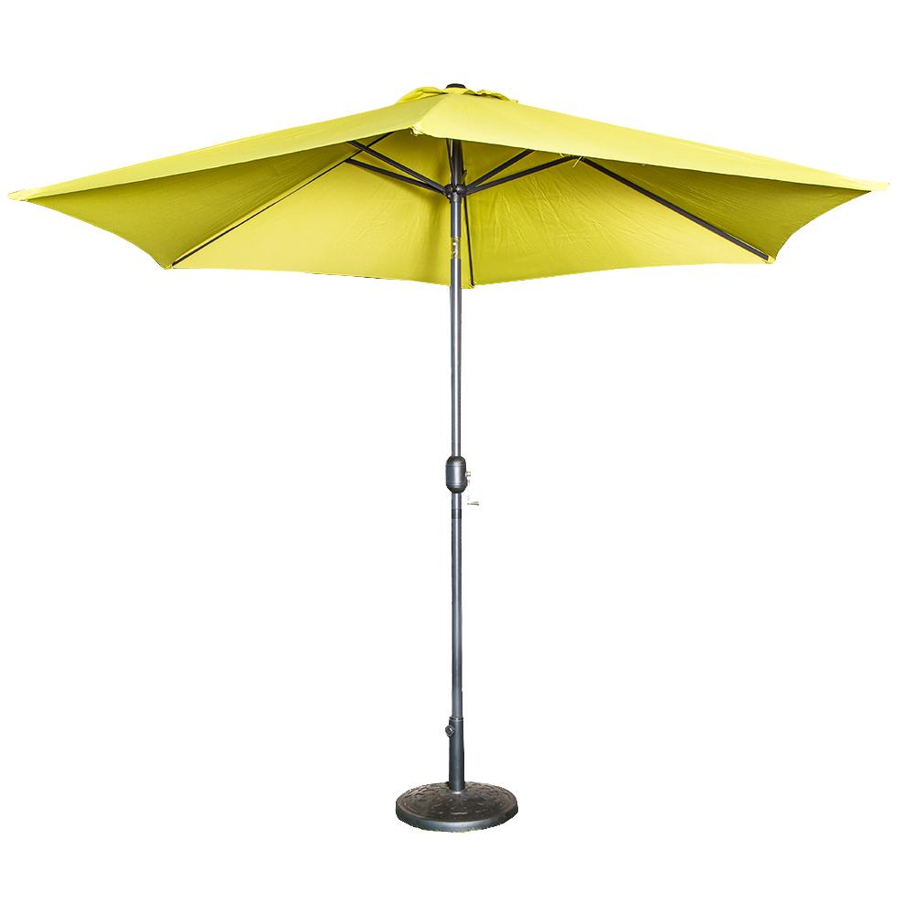 Aluminium/Steel Garden Umbrella With Stand #SU2005 1