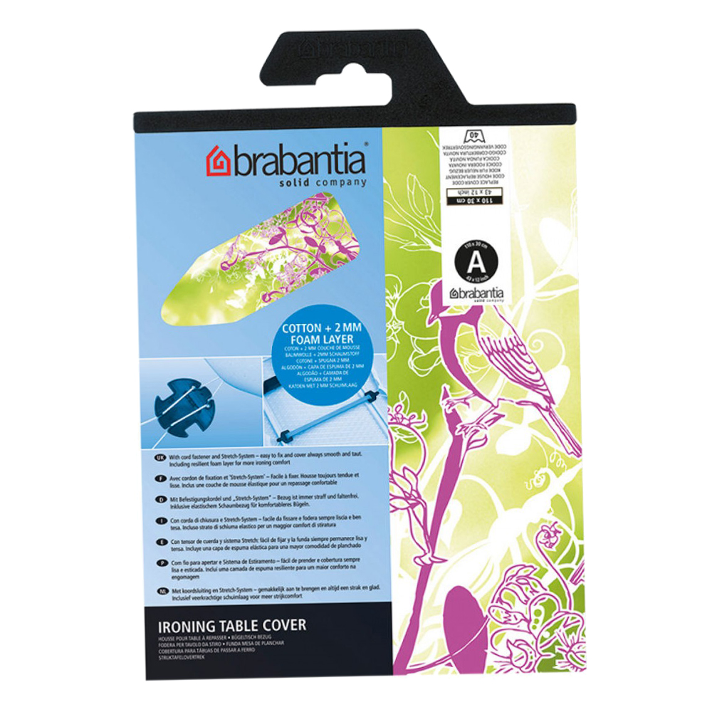 Brabantia: Ironing Board Cover With 2mm Foam; 110x30cm #194801