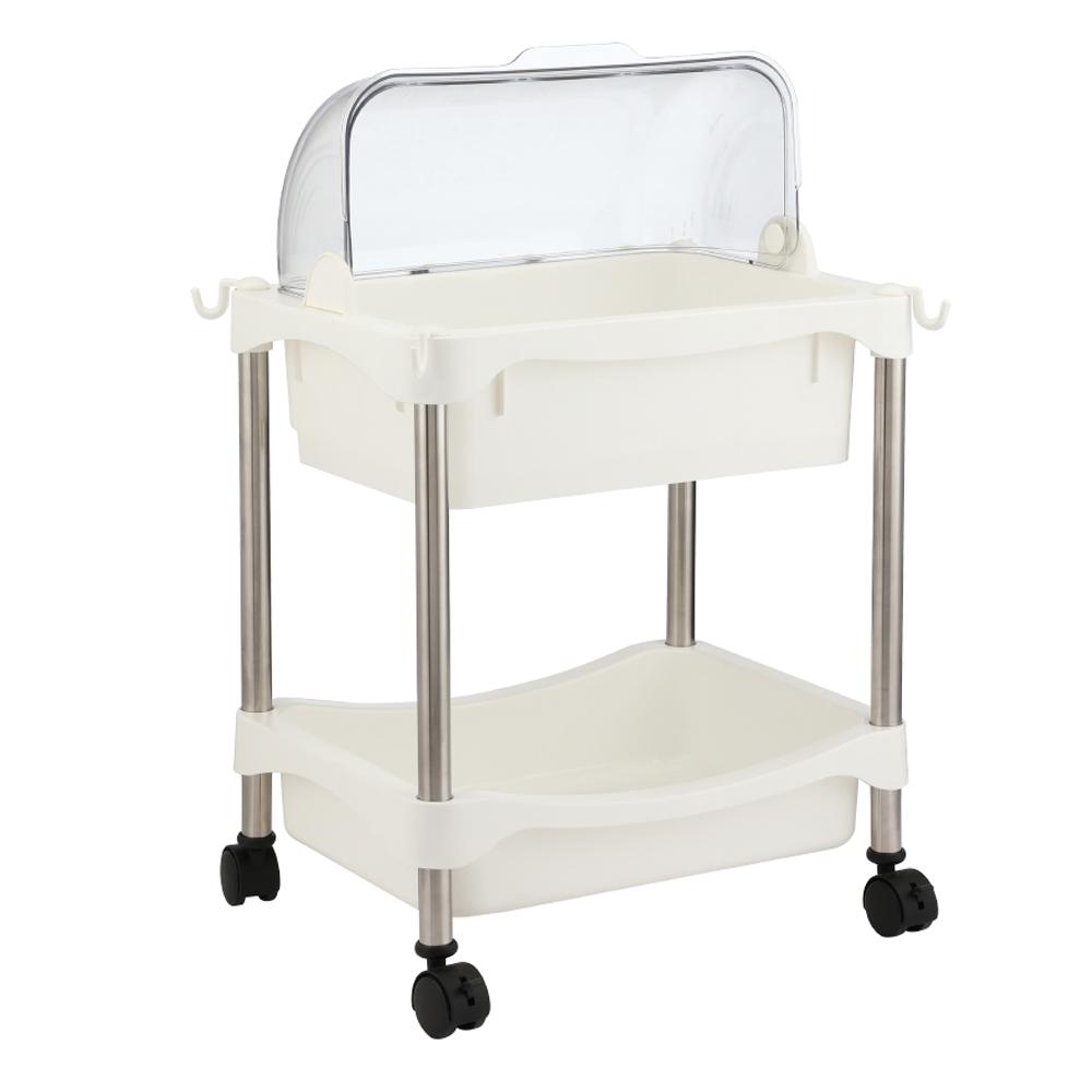 Index: Loli 2-Layers Dish Rack With Wheels; 45x30x61cm #170115759 1