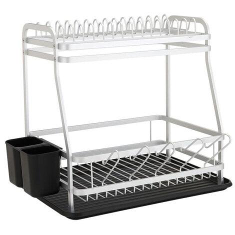 Randson 2 Tier Dish Rack; (43x32x39