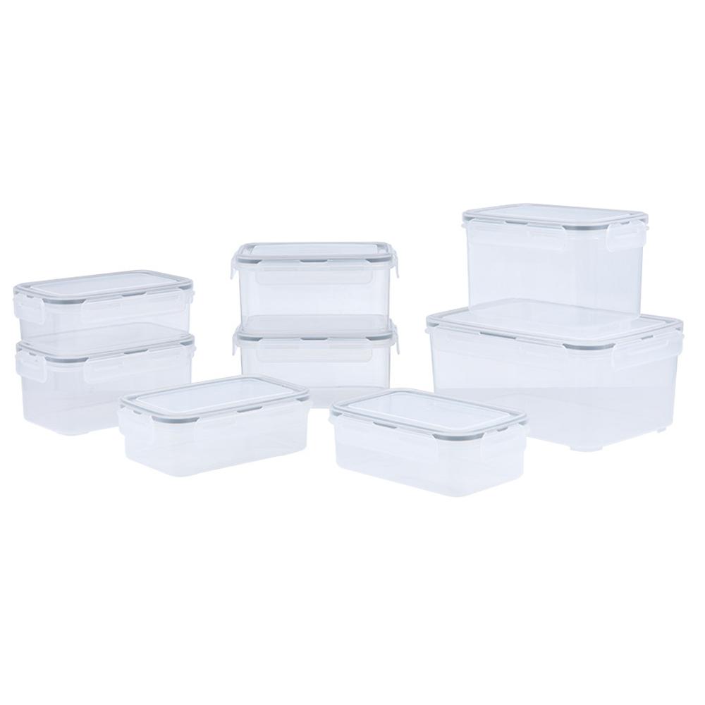 Index: K-Bolock Food Container Set + Lid 8Pcs #170114125 1