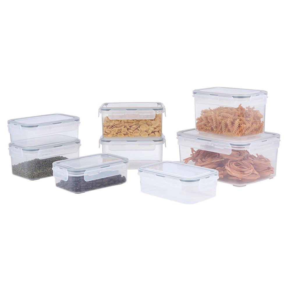 Index: K-Bolock Food Container Set + Lid 8Pcs #170114125
