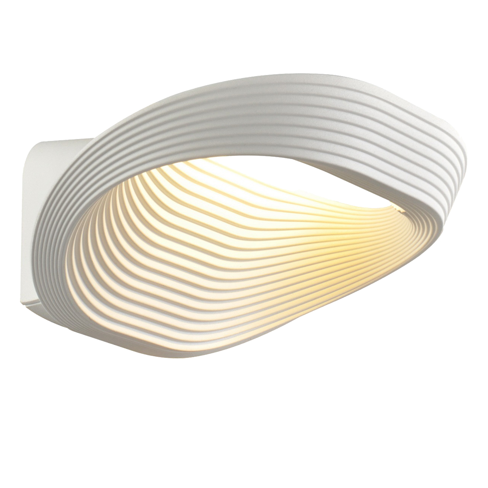 Domus: Wall Lamp: White,  LED 1x12W #L38041/1W12W/WH/240 1