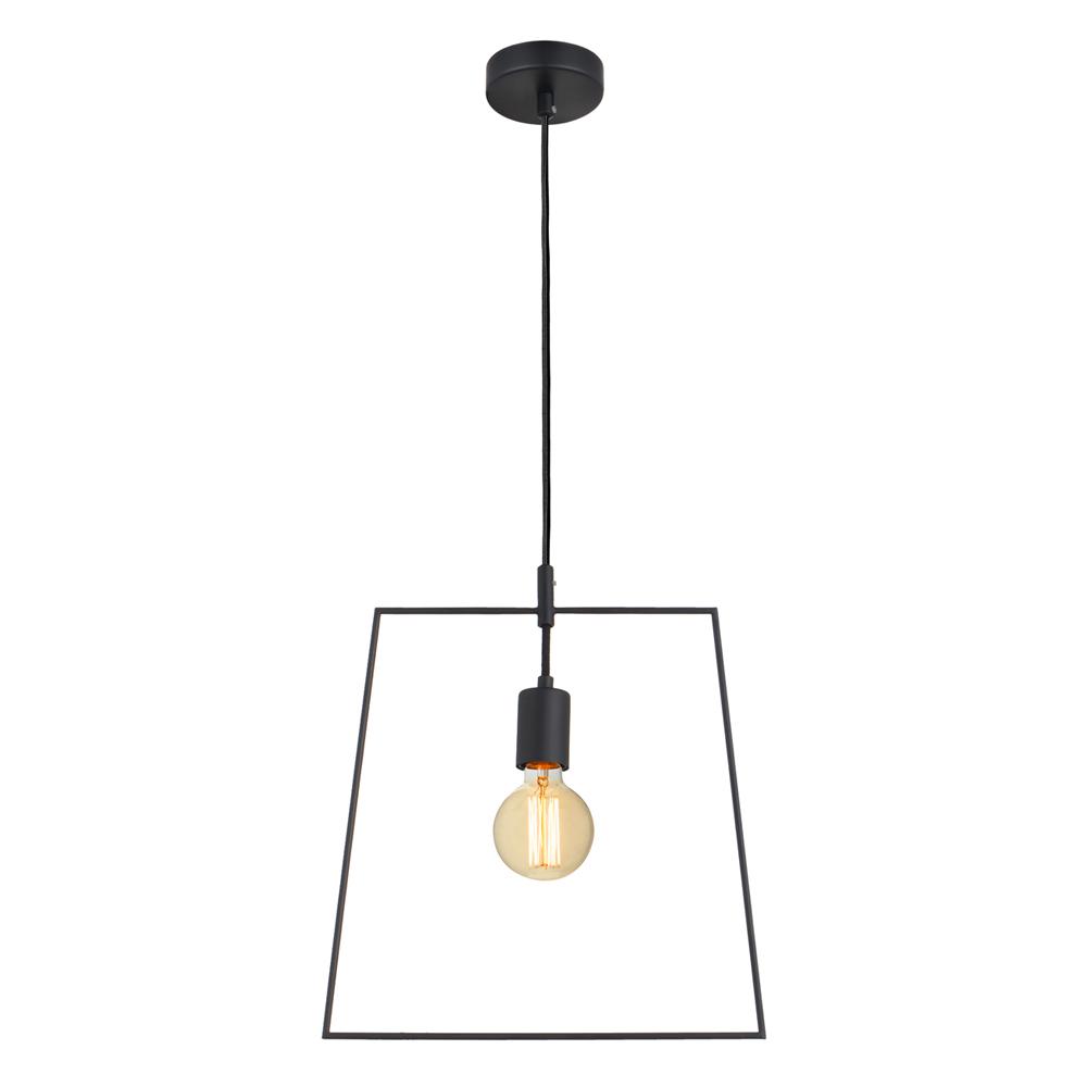 Domus: Pendant Lamp: Black, E27 1x40W #V35183/1P/BK/350 1
