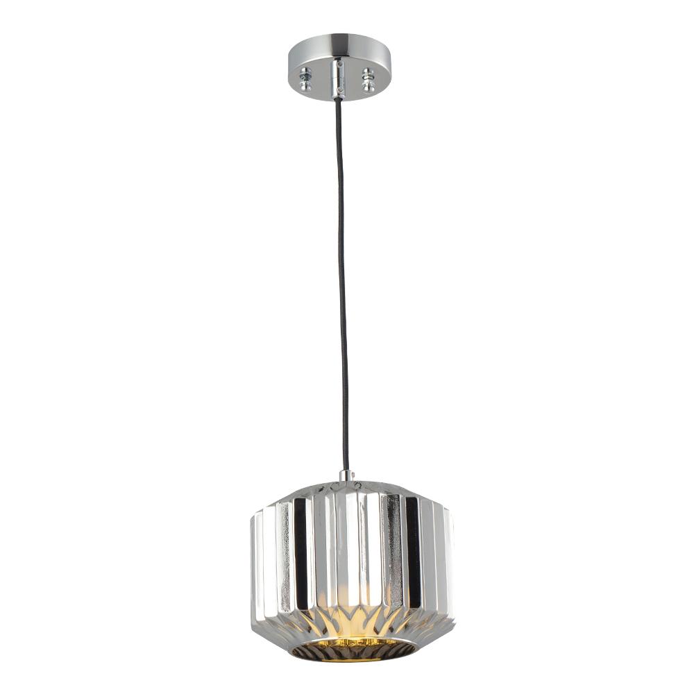 Domus: Pendant Lamp: Chrome, E27 1x40W #V37151/1P/CH/200 1