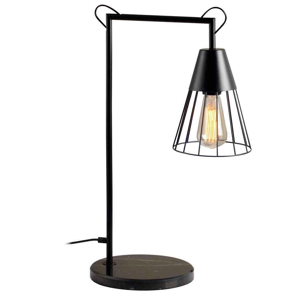 Domus: Table Lamp: Black, E27x1 #V40014/1T/BK/380 1