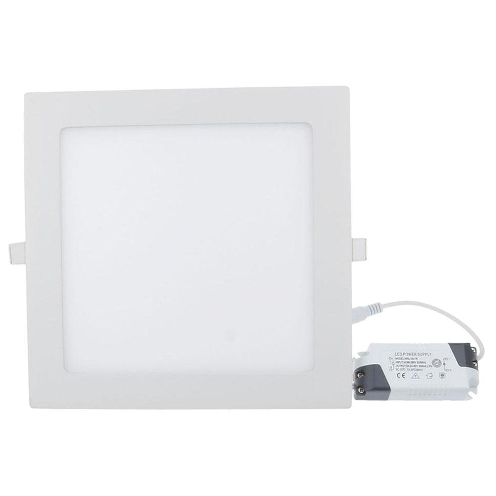LEADER: LED Recessed Square Panel Light; 12W, 4000K #LY-YZFX5C 1