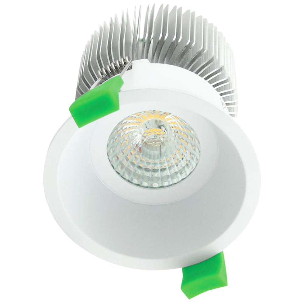 Seity LED Down Light, Tridonic Dimmable 0-10V driver 640LM: 3000K 10W #102003-1 1