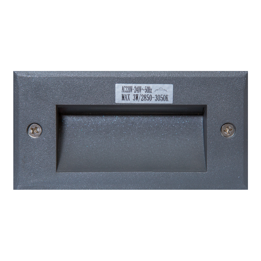HM211W02: LED In Ground 3W 53mm 220-240V 1