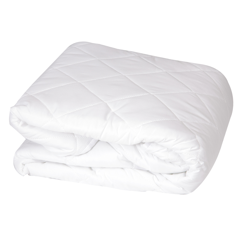 DOMUS: Mattress Protector with Elastic Band: Queen, 180x200cm 1