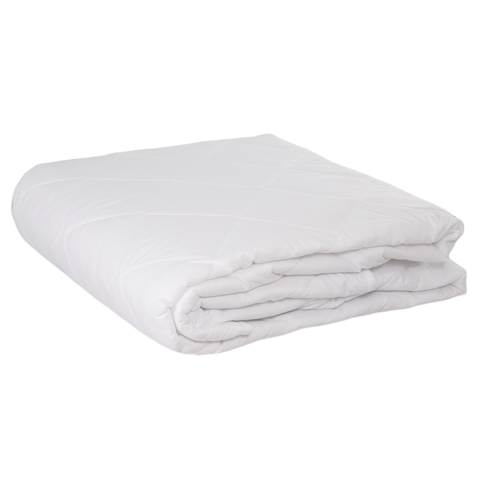 DOMUS: Twin Mattress Protector With Elastic Band; 1Pc 120x200+35cm