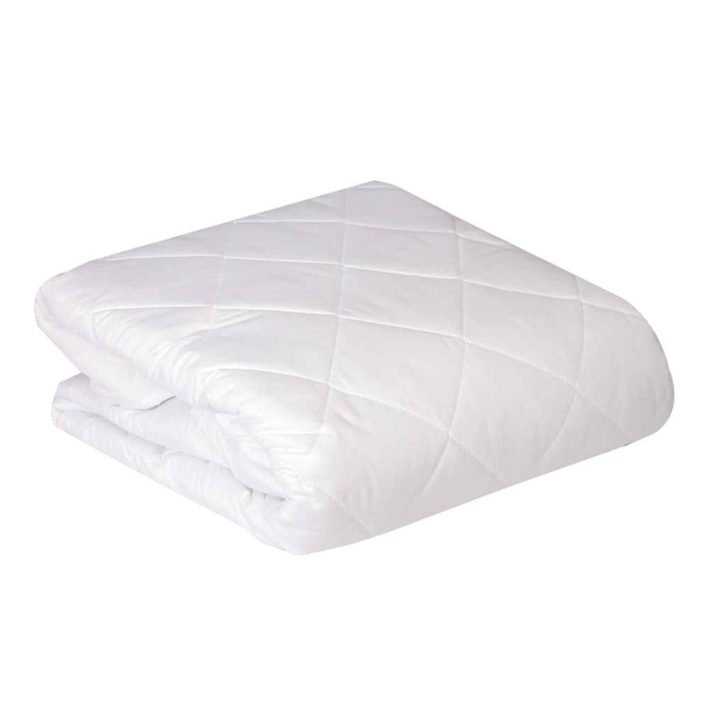 DOMUS: Mattress Protector With Elastic Band: 1Pc 200T, PC144-D 150x200+35cm
