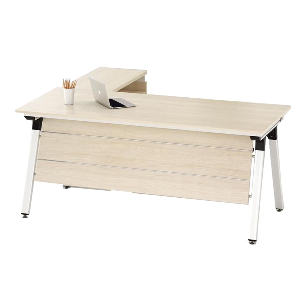 MOBI: Executive Desk + Side Table + Mobile Pedestal, Left; 160x80x76cm #29MOB032 1